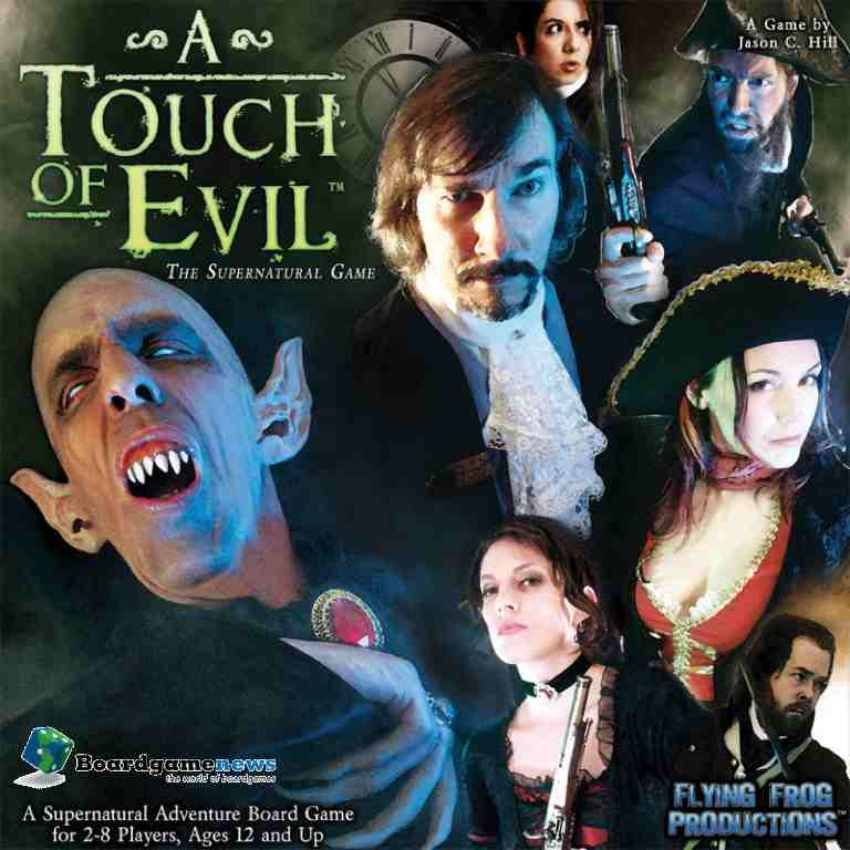 A Touch of evil boardgame