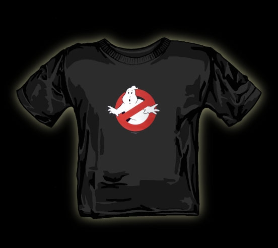 Ghostbusters logo T shirt