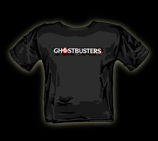 ghostbusters strip t shirt