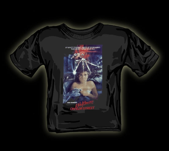 nightmare on elm street nancy t shirt