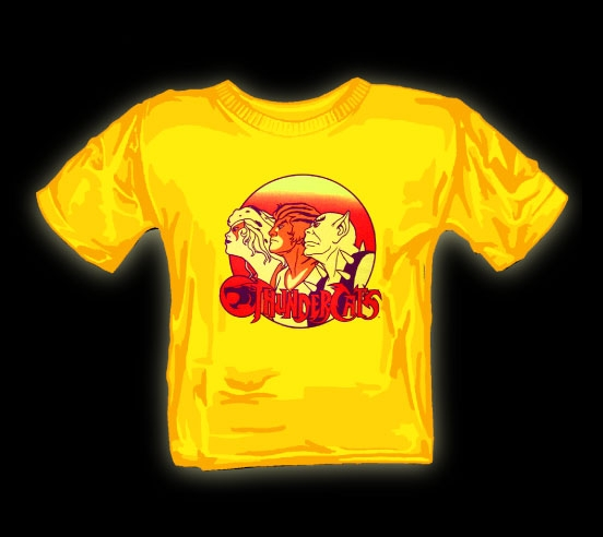 thundercats group retro t shirt