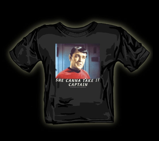 Funny Star Trek t shirt