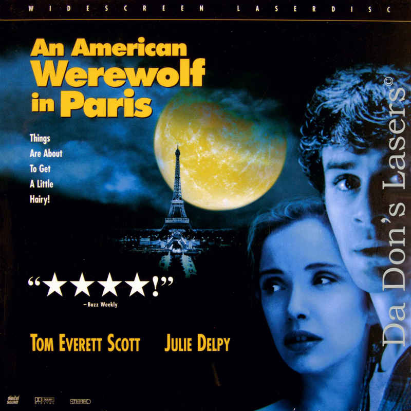 American Werewolf in Paris  DVD