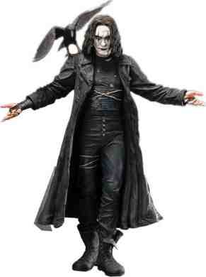 The Crow 18 inch figure