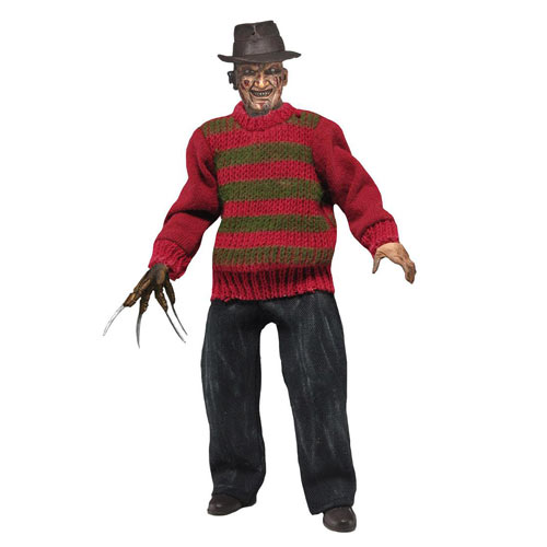 new freddy krueger retro figure