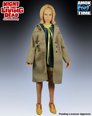 Night of the living dead Barbara figure