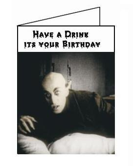 Nosferatu birthday card