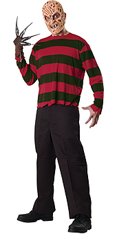 freddy krueger mask and top