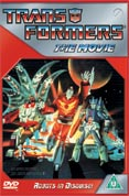Transformers the movie original DVD
